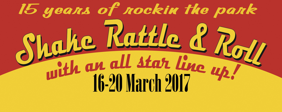 Charlie Gracie - From The USA at Shake Rattle and Roll Weekender-16-20 March 2017