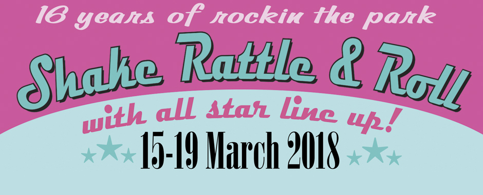 Bill Haley Jn - From The USA at Shake Rattle and Roll Weekender-15-19 March 2018