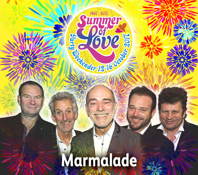 Marmalade at 60s Summer of Love Party Weekender