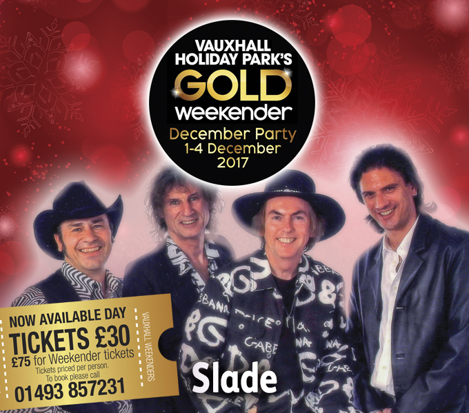 Slade - December Party Weekender