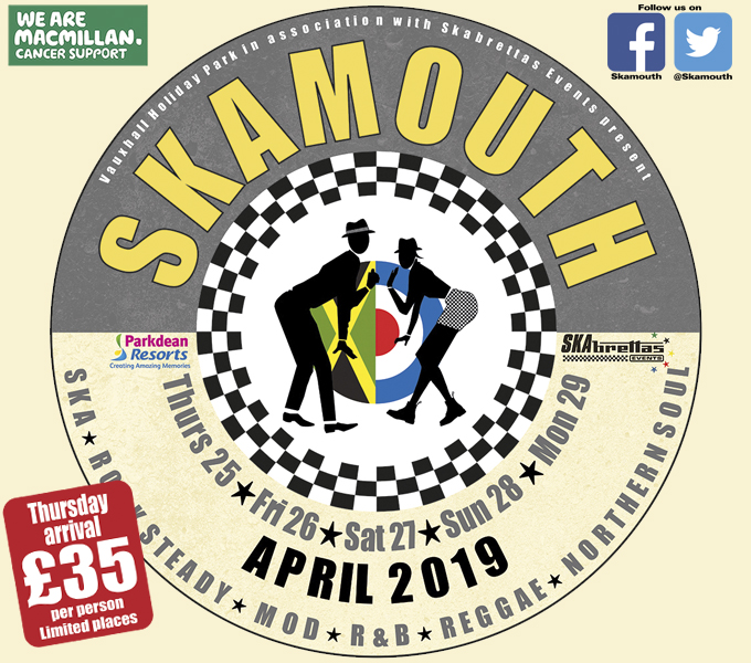 Skamouth Weekender 25-29 April 2019