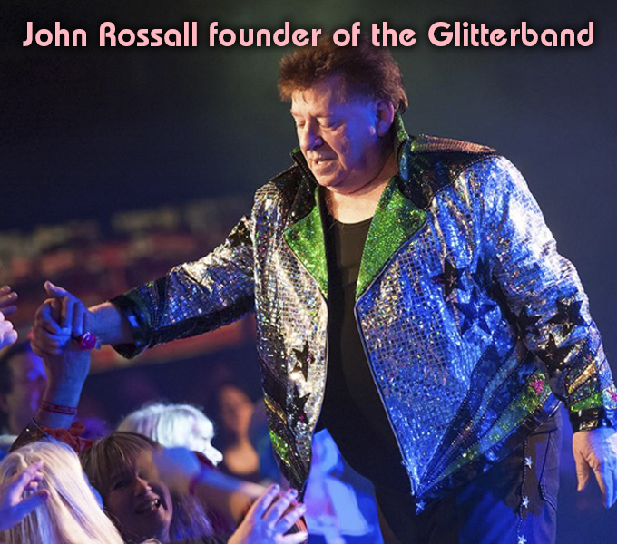 John Rossall founder of the Glitterband 70s Weekender May 2019