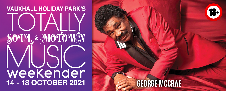 George McCrae Totally Soul & Motown 14 – 18 October 2021