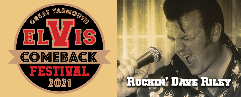 Rockin' Dave Riley at Elvis Festival 10-17 September 2021
