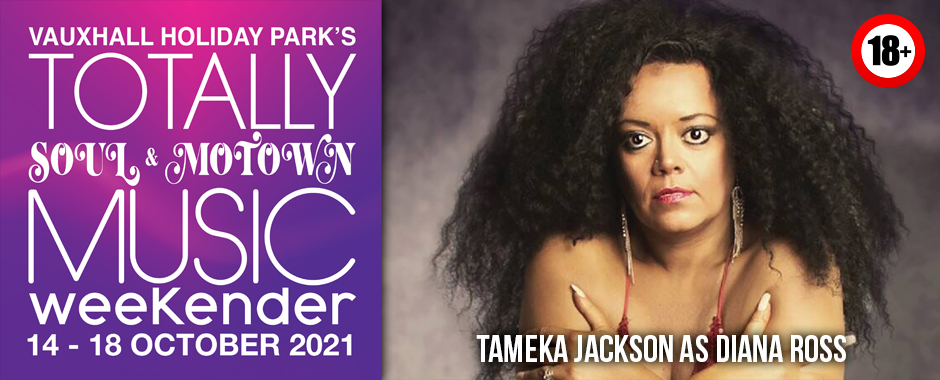 Tameka Jackson at Totally Soul & Motown 14 – 18 October 2021