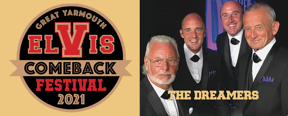 The Dreamers at Elvis Festival 10-17 September 2021