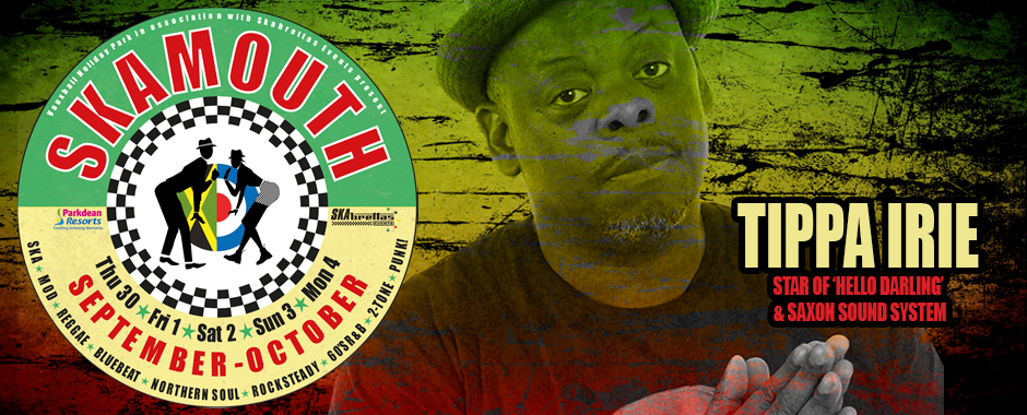 Tippa Irie at at for Skamouth Weekender 30 September - 4 October 2021